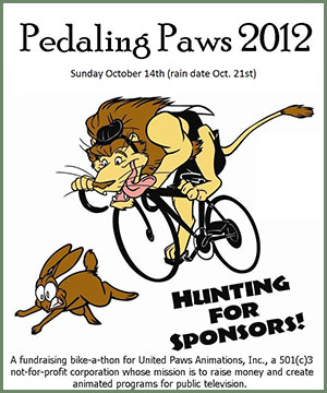 Pedaling Paws 2012